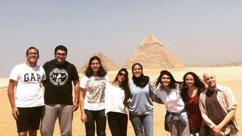Students-At-Pyramids