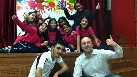 Turkish-Olympics-Sean-David-Hobbs-Egyptian-and-Turkish-Girls-Dance-Team-Salahadin-Cairo-Egypt